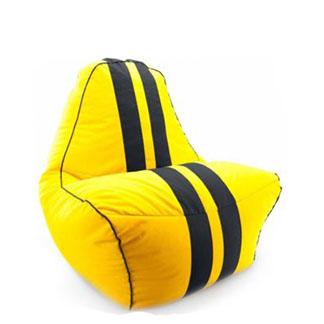 Кресло мешок Феррари желтый