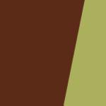 Коричневий+Зелений
