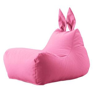Кресло зайка Розовый