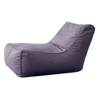 Кресло лежак Рогожка Серый
