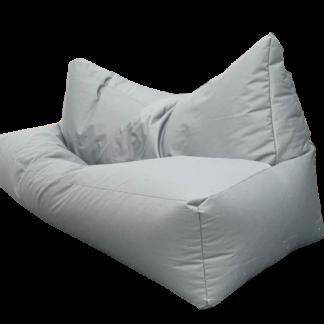 Безкаркасний диван сірий