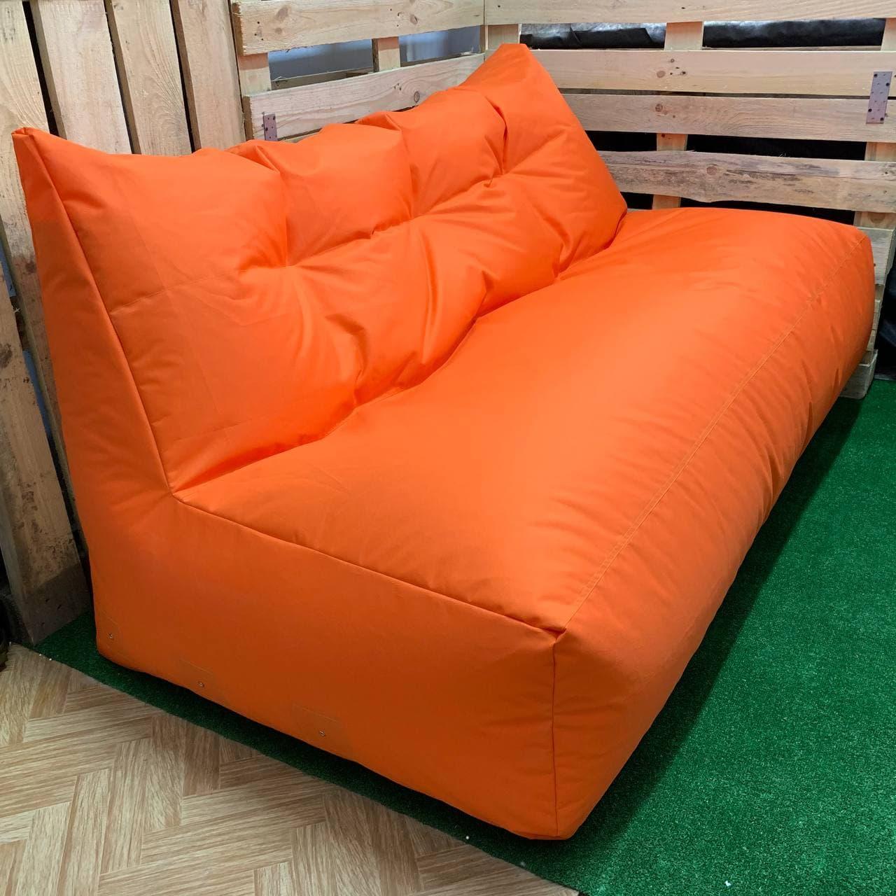 Безкаркасний диван Помаранчевий